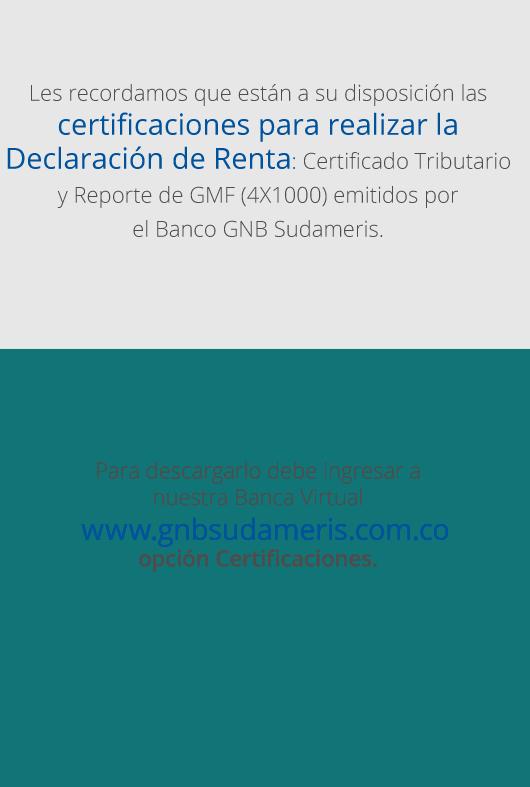 Oficinas y horarios gnb sudameris for Oficinas y cajeros